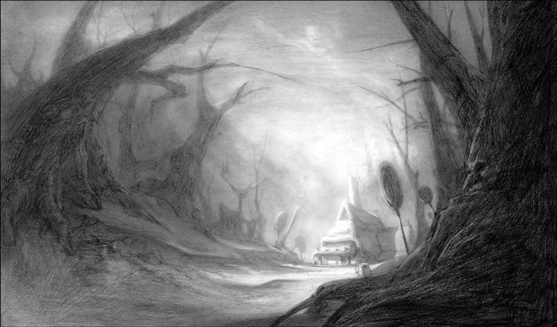 Forest Rendering for Hansel and Gretel